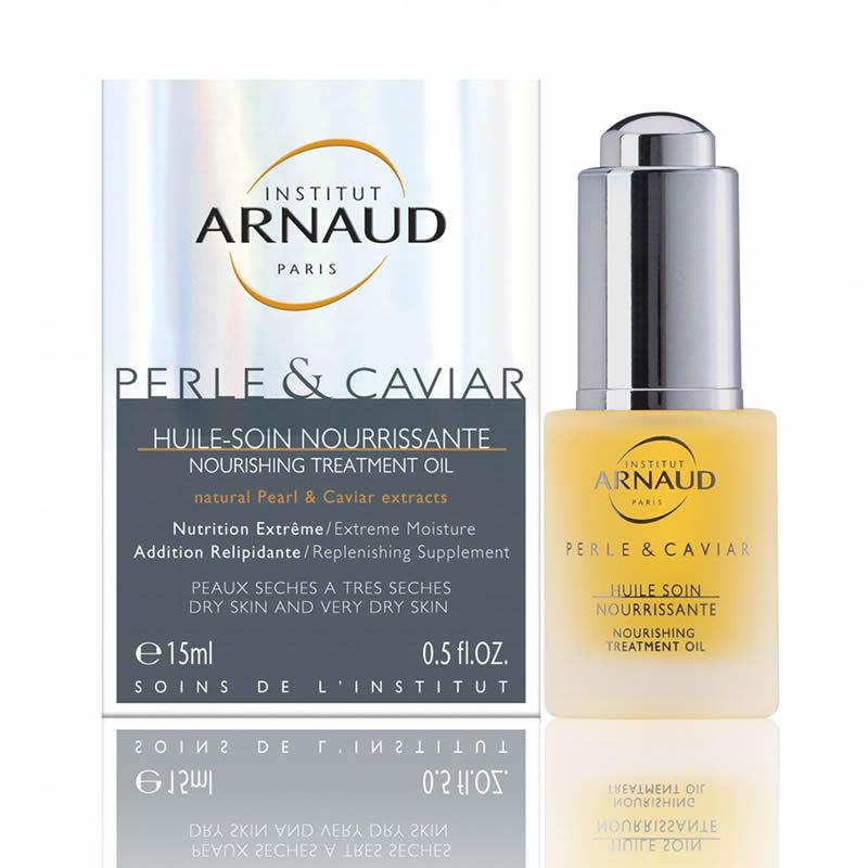 Arnaud Perle&caviar Huile-soin Nourrissante Средство суперпитательное для сухой кожи лица