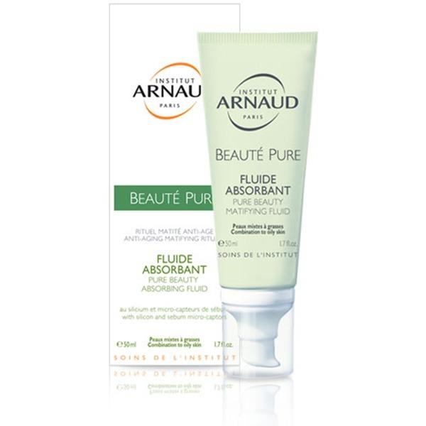 Arnaud Pure Beauty Absorbing Fluid Матирующий флюид для зрелой жирной кожи лица
