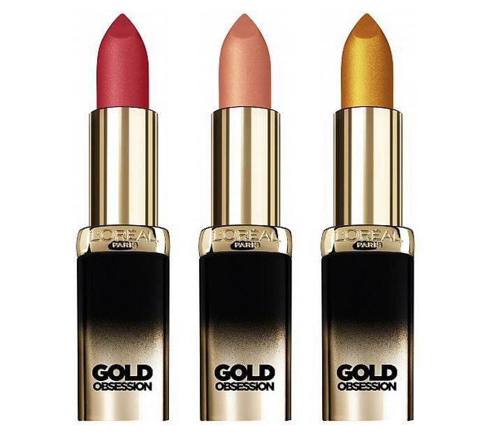 L`Oreal Color Riche Gold Obsession Помада