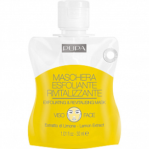 Pupa Exfoliating & Revitalizing Mask Маска отшелушивающая и восстанавливающая