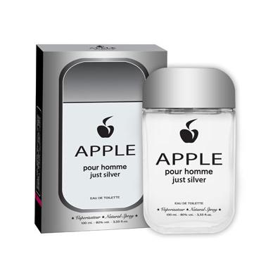 Apple Parfums Apple Pour Homme Just Silver