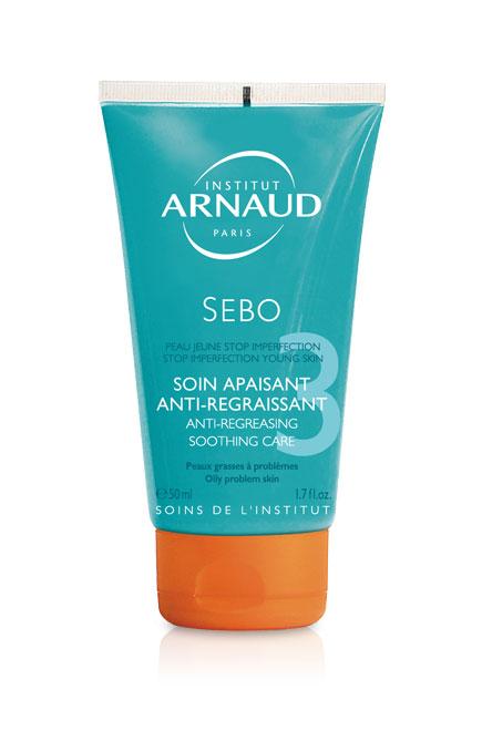 Arnaud Sebo Soin Apaisant Средство успокаивающее для жирной кожи лица