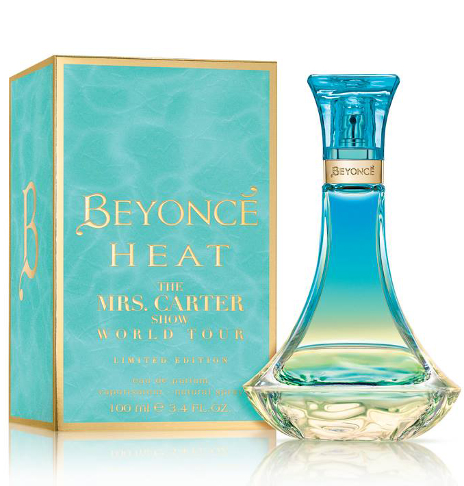 Beyonce Heat The Mrs Carter Show Wt Limited Edition
