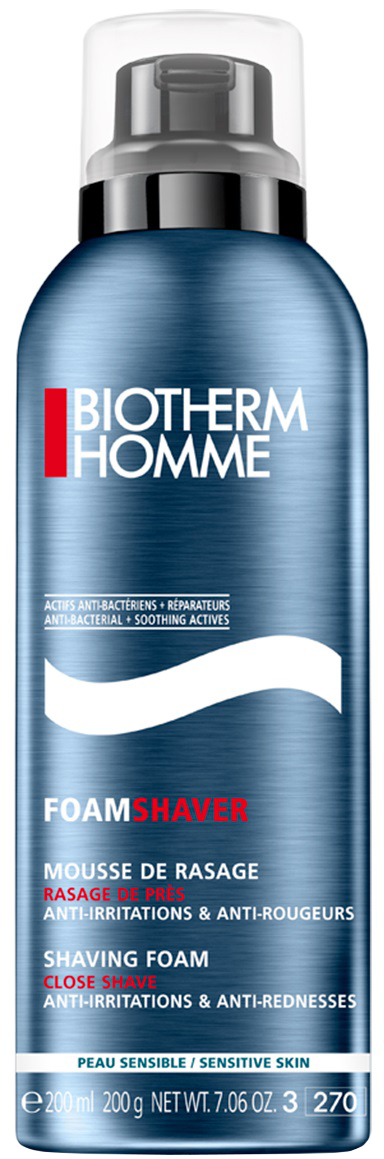 Biotherm Foam Shaver Пена для бритья для чувствительной кожи