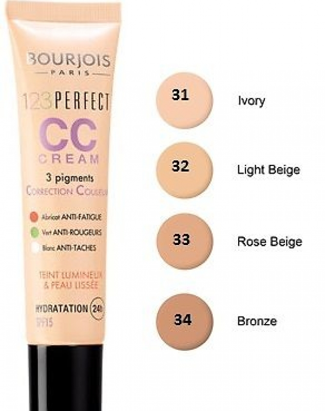 Bourjois крем-корректор для лица Cc Cream