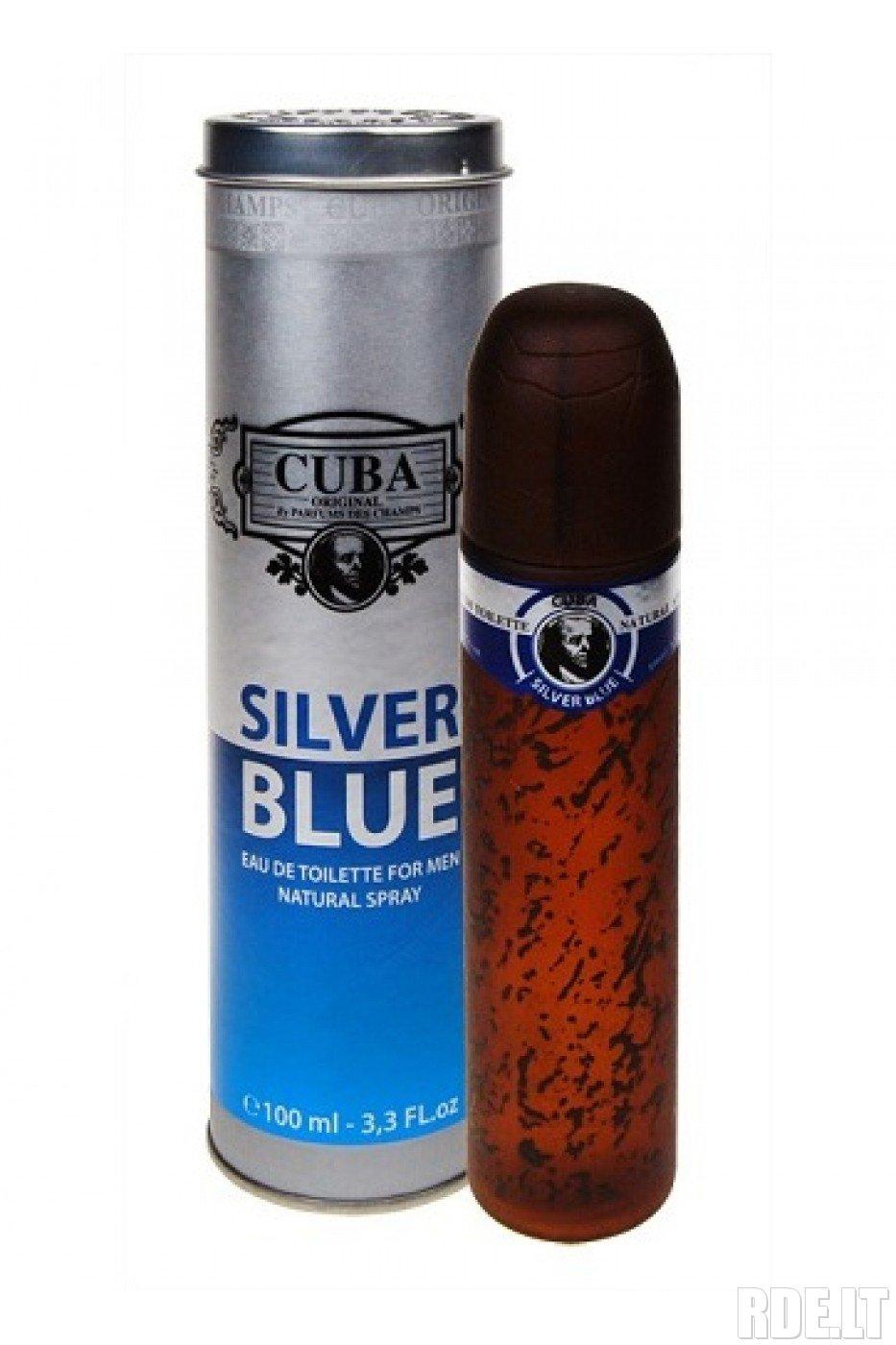 Cuba Paris Silver Blue