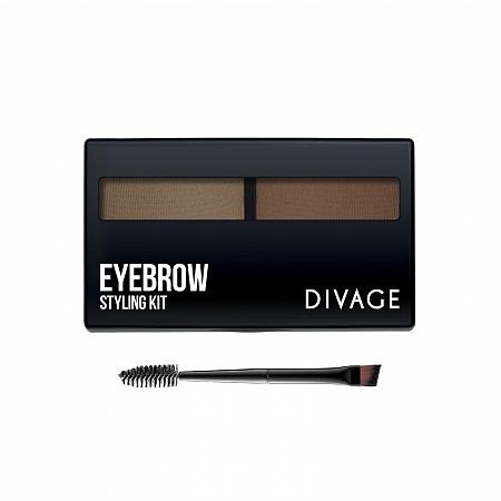 Divage Danna Eyebrow Styling Набор для моделирования формы бровей