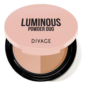 Divage Пудра компактная двухцветная Luminous Powder Duo