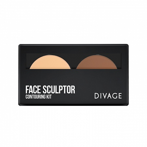 Divage Палетка для лица Face Sculptor