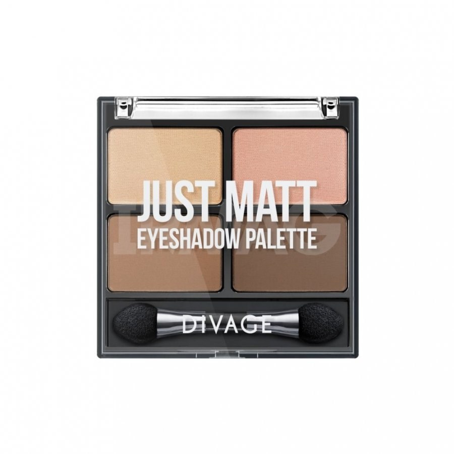 Divage Палетка теней для век Palettes Eye Shadow Just Matt