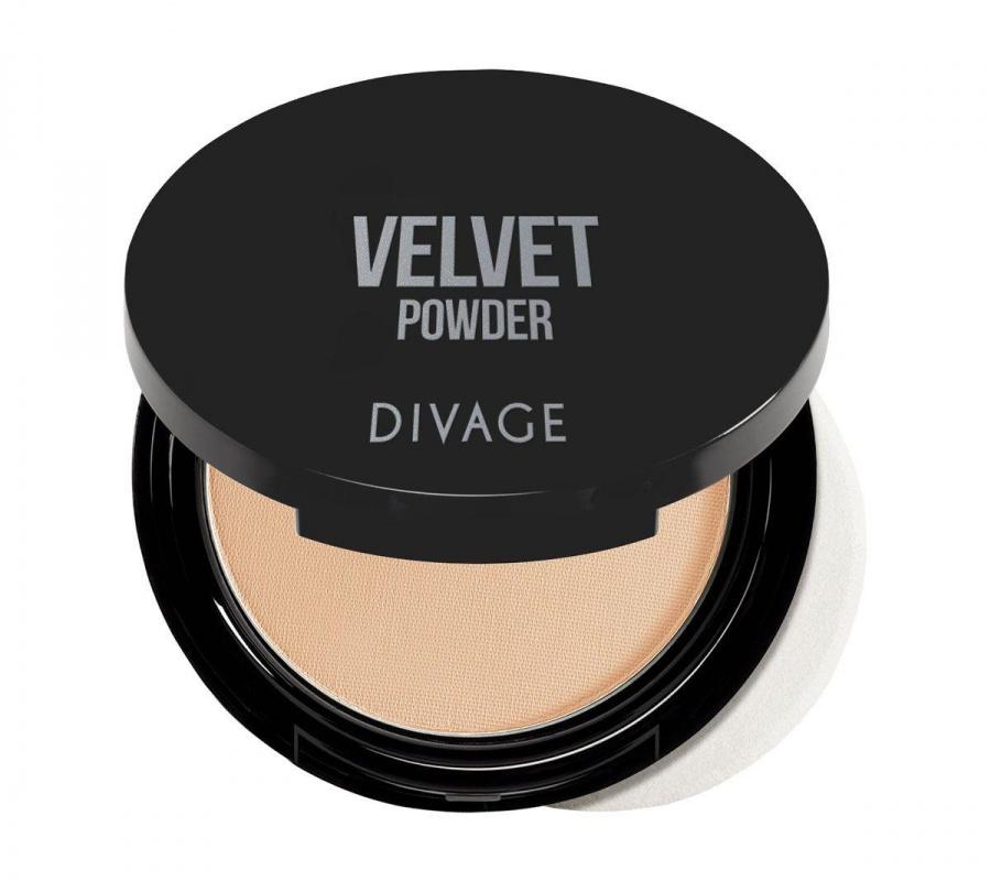 Divage Velvet пудра компактная