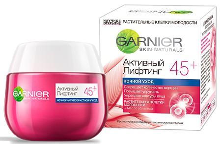 Garnier Клетки молодости Активный лифтинг 45+ ночной крем