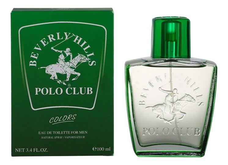 Giorgio Beverly Hills Polo Club Green Colors