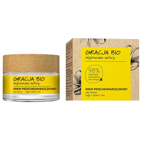 Gracja Крем против морщин для лица с маслом монои
