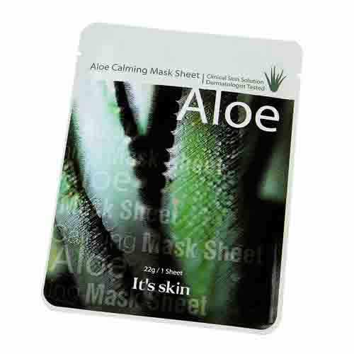 Burberry Aloe Calming Mask Sheet Успокаивающая маска с алое