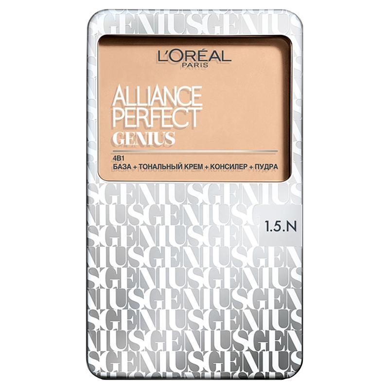 L`Oreal Alliance Perfect  Genius 4в1 тональное средство