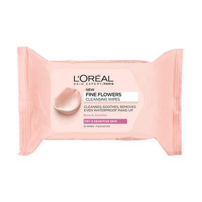 L`Oreal Бесконечная свежесть Салфетки для снятия макияжа