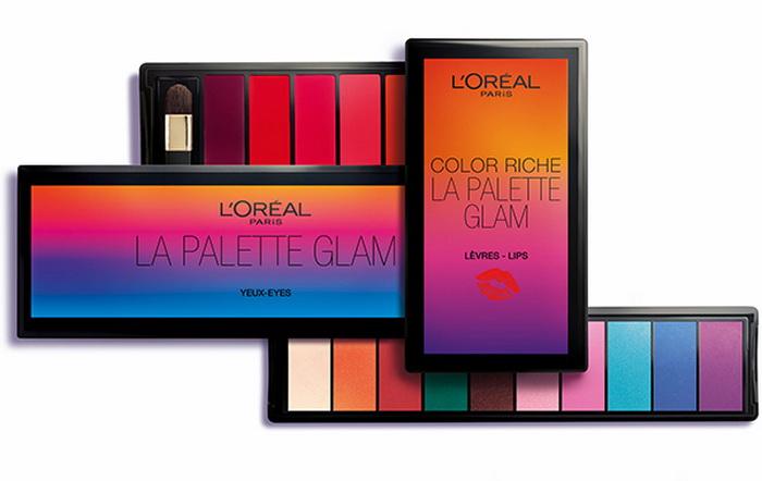 L`Oreal Glam Summer 2016 Палетка для глаз