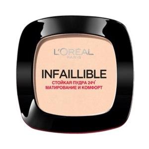 L`Oreal Infaillible Компактная премиум пудра для лица
