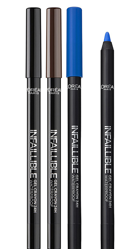 L`Oreal Infallible Gelcrayon 24h Waterprof водост. карандаш для глаз