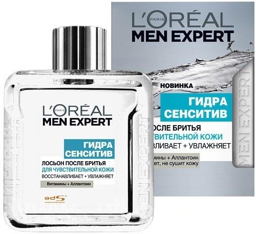 L`Oreal Men Expert Гидра Сэнситив Лосьон после бритья