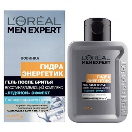 L`Oreal Men Expert Гидра Энергетик Гель после бритья Ледяной эффект