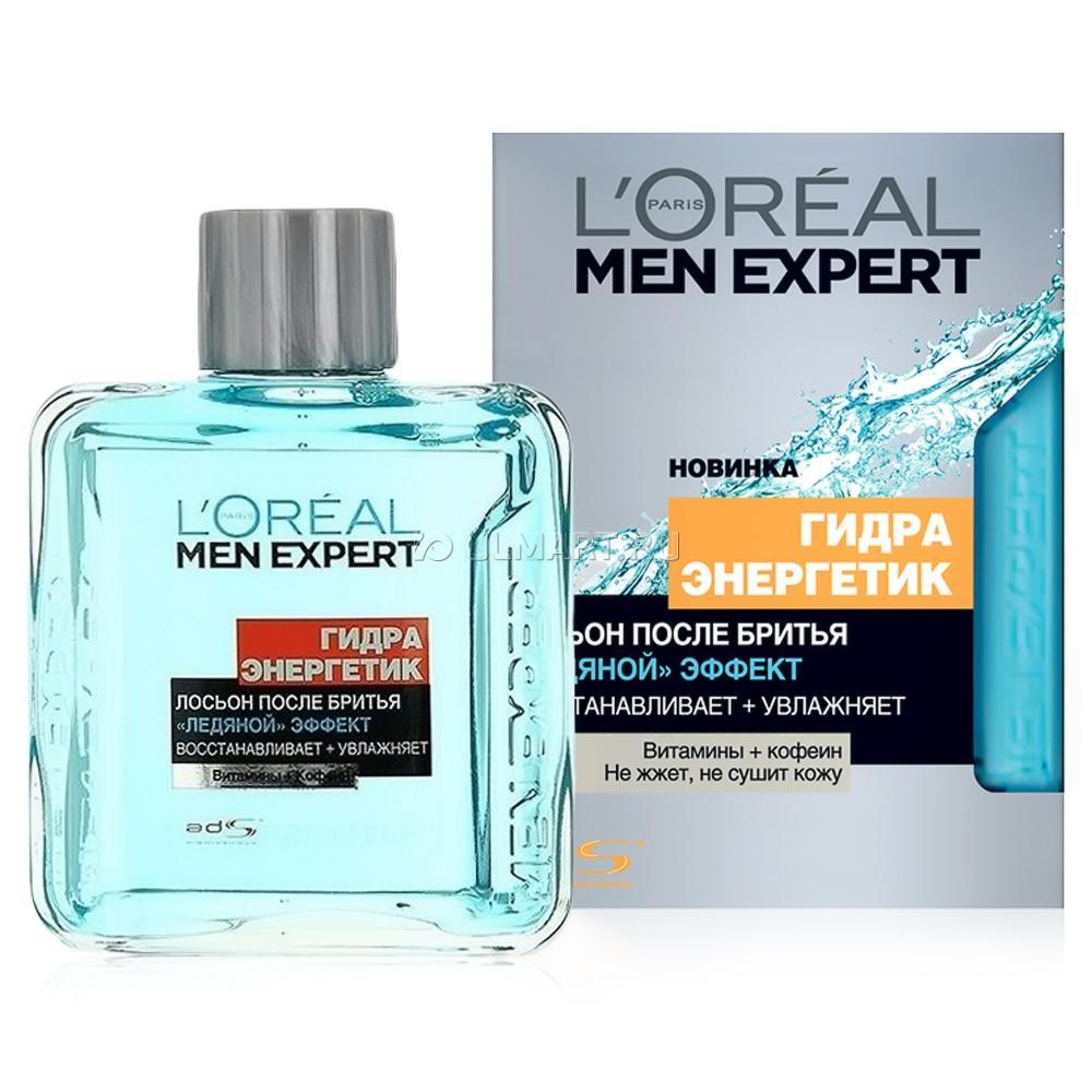 L`Oreal Men Expert Гидра Энергетик Лосьон после бритья Ледяной эффект
