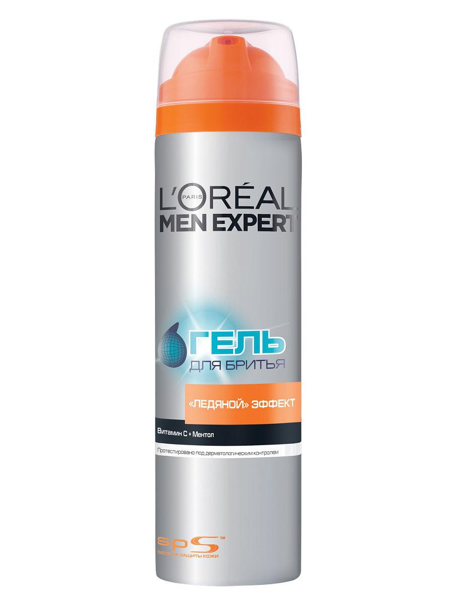 L`Oreal Men Expert Ледяной эффект Гель для бритья
