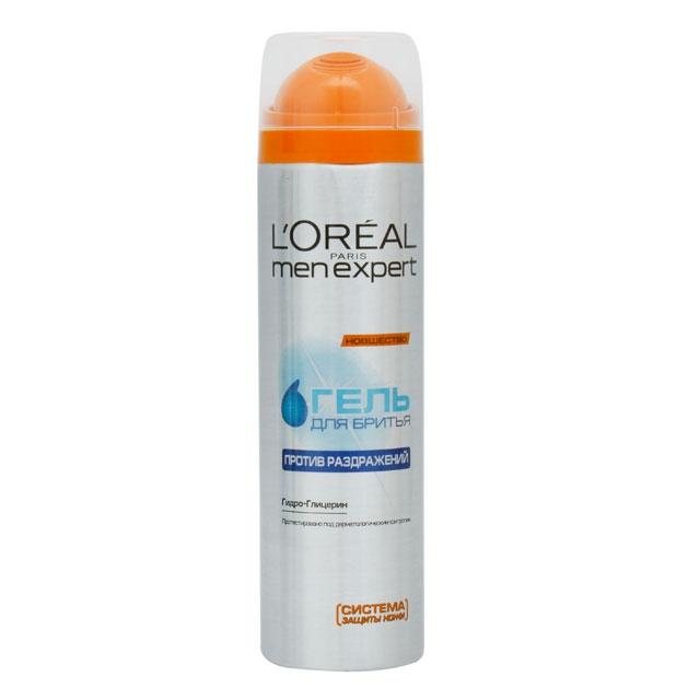 L`Oreal Men Expert Против раздражения Гель для бритья