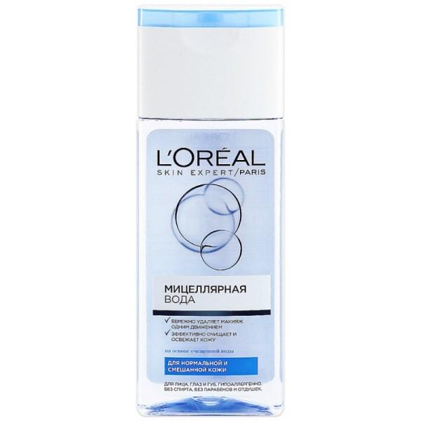 L`Oreal Мицелярная вода для нормальной и смешанной кожи