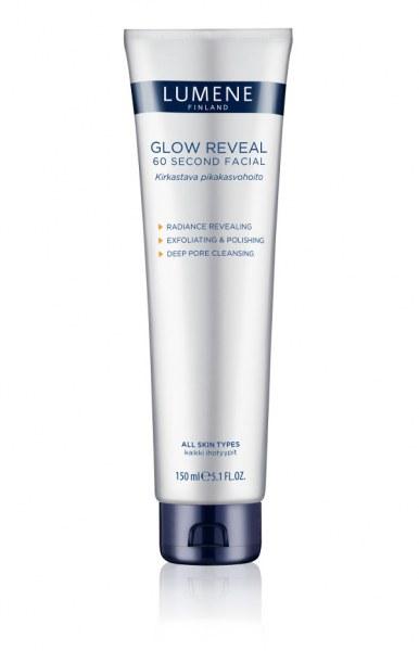 Lumene Glow Reveal 60 Second Facial Очищяющее средство для умывания