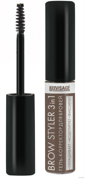 Luxvisage Гель-корректор для бровей Brow Styler 3 In 1