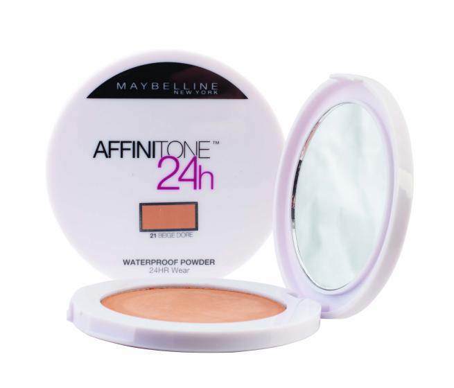 Maybelline Affinitone Совершенный тон 24ч пудра компактная