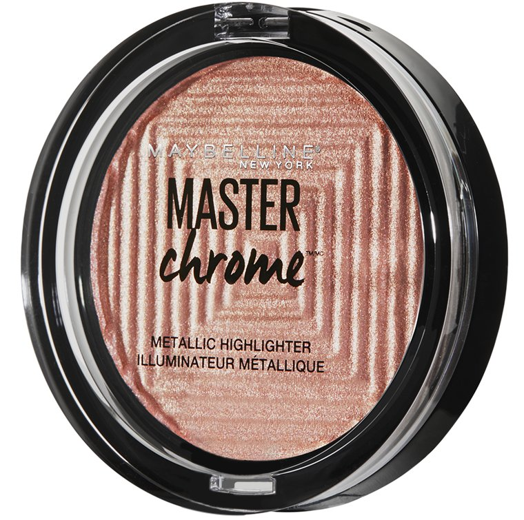 Maybelline пудра-хайлайтер с металлик эффектом Master Chrome