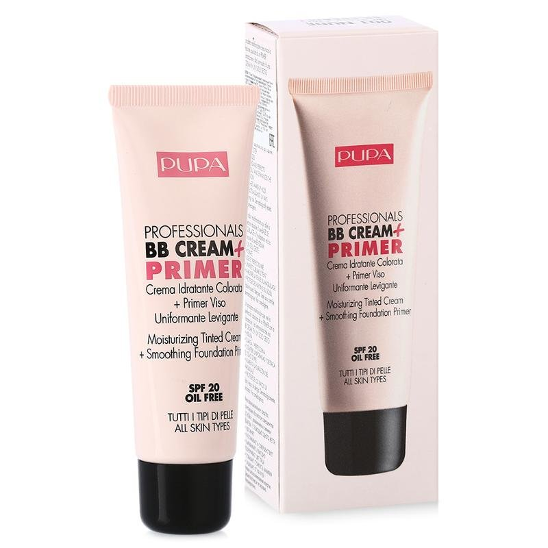 Pupa Professionals Bb Cream + Primer Крем + основа для всех типов кожи 50мл