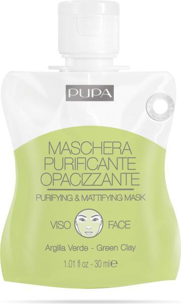 Pupa Purifying & Mattifying Mask Маска очищающая и матирующая