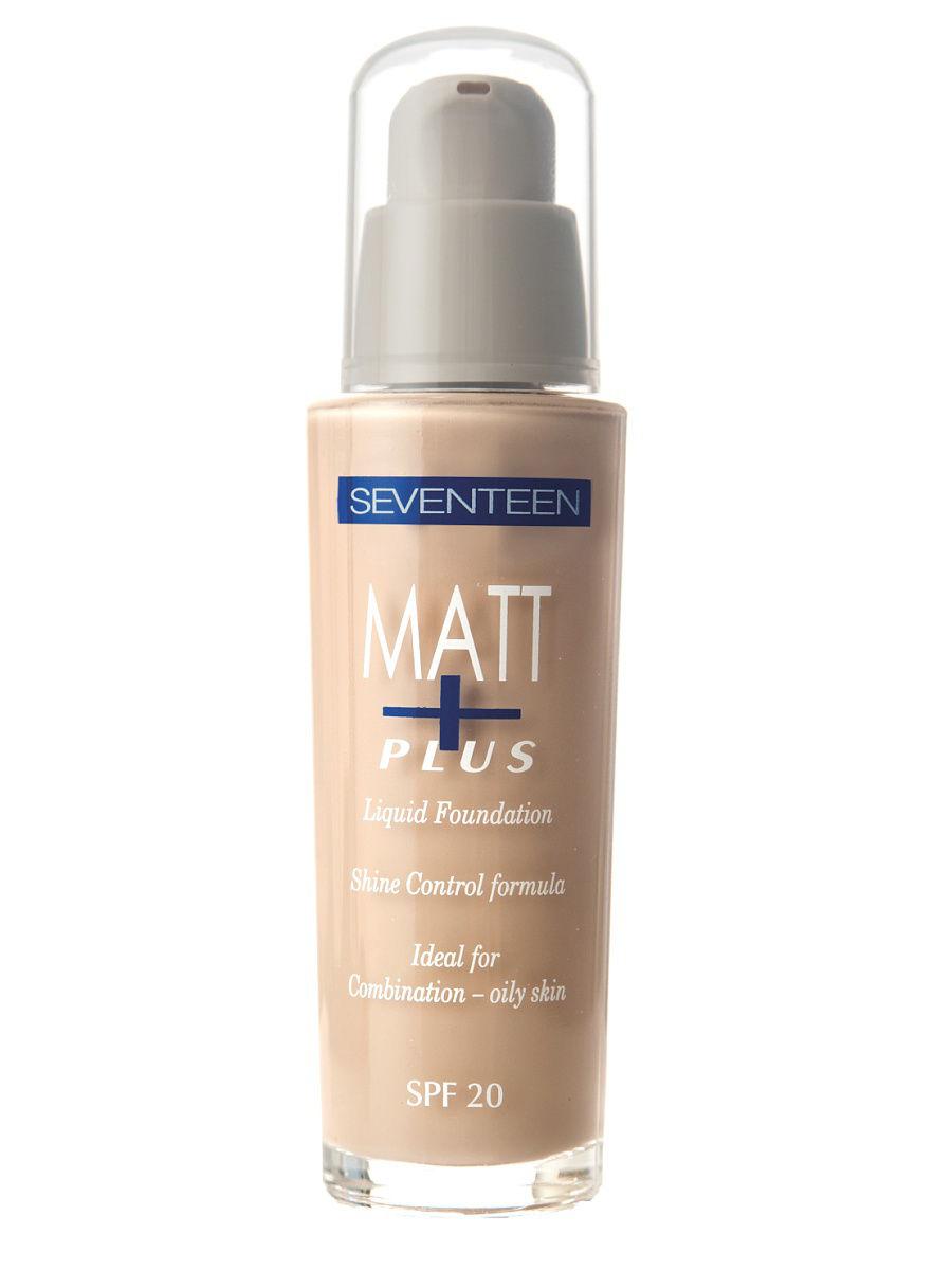 Seventeen Тон.крем длител.действия Matt Plus Liquid Spf20