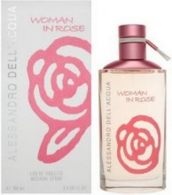 Alessandro Dell`Acqua Woman In Rose