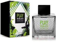 Antonio Banderas Seduction In Black Play