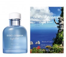 Dolce & Gabbana Light Blue Beauty Of Capri Pour Homme