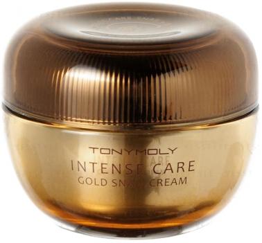 Tony Moly Intense Care Gold Snail Cream Крем для лица с золотом, экстрактом улитки