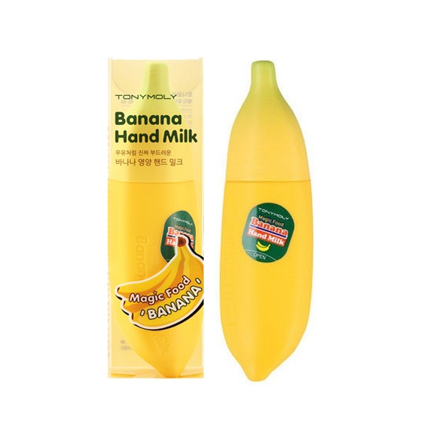 Tony Moly Magic Food Banana Hand Milk  Молочко д/рук с экстрактом банана