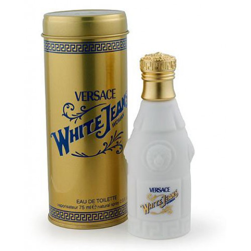 Versace White Jeans